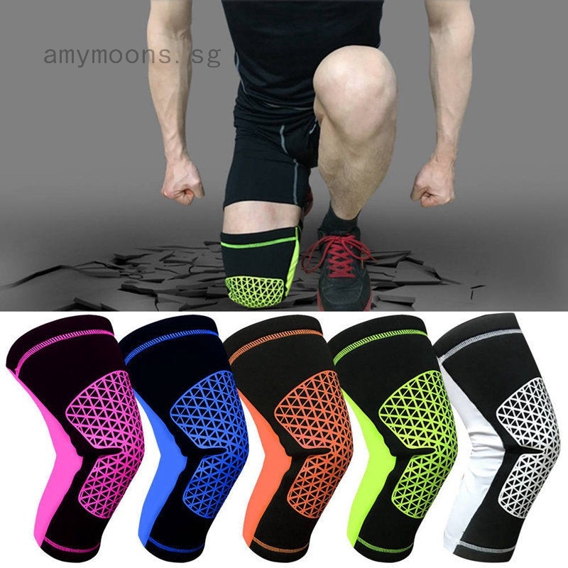 Knee Support Arthritis Pain Relief Sport Gym Open Patella Protect Kneepad
