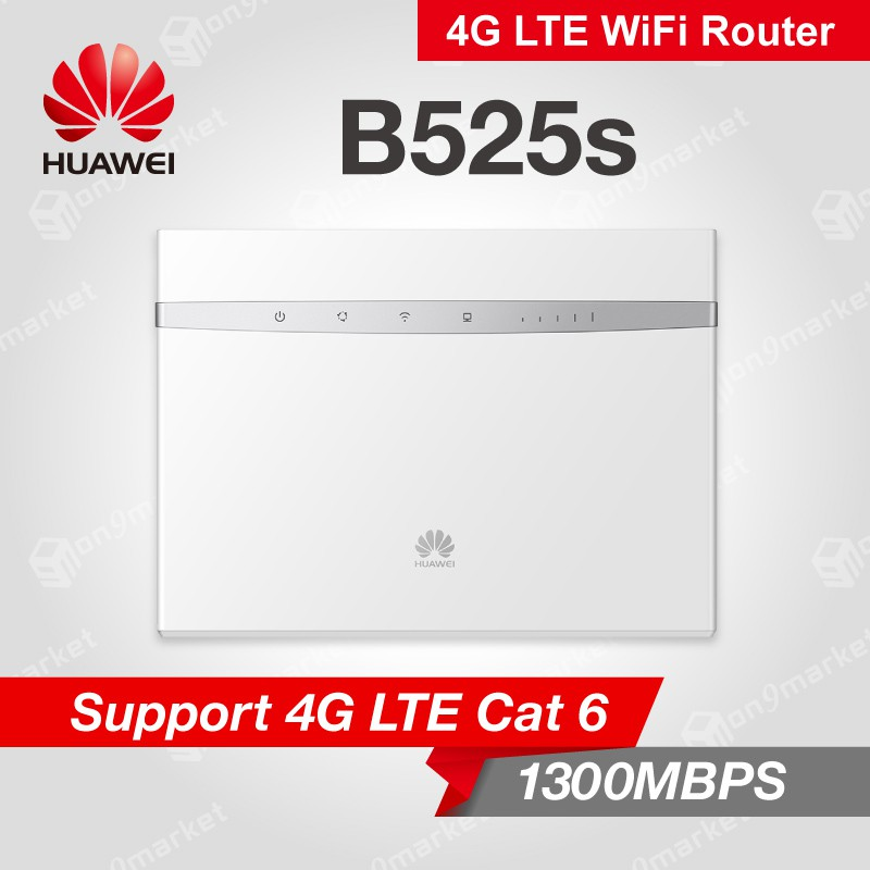 Huawei B525 B525s 4G LTE SIM Card Router - 5G Dual Band 300Mbps & 1300Mbps