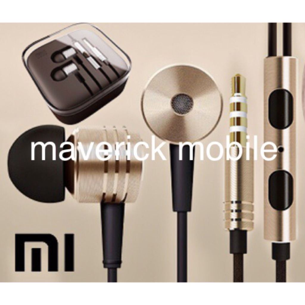 Xiaomi High Quality A headset Shu Millet Iron Ring In-Ear Headphones | Shopee Singapore