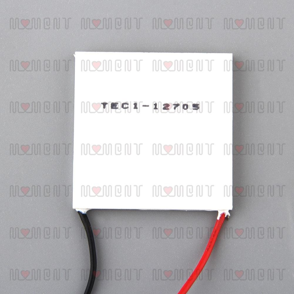 Sale! x40mm 12V 60W TEC1-12705 Cooler coolling Thermo Electric Thermoelectric | Shopee Singapore