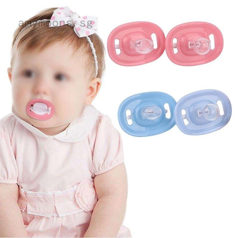 Newborn Baby Kids Orthodontic Dummy Pacifier Silicone Teat Nipple Soothers