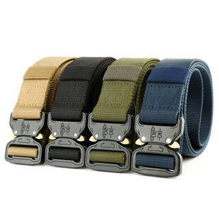 Tactical Belt Military Training Belt with Heavy Duty Quick Release Metal  Buckle