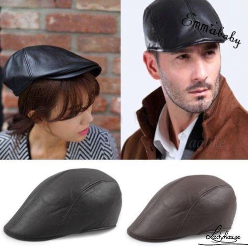 a1fd0673956 Men Newsboy Cap Hat Gatsby Flat Ivy Golf Cabbie Baker Beret Artist ...