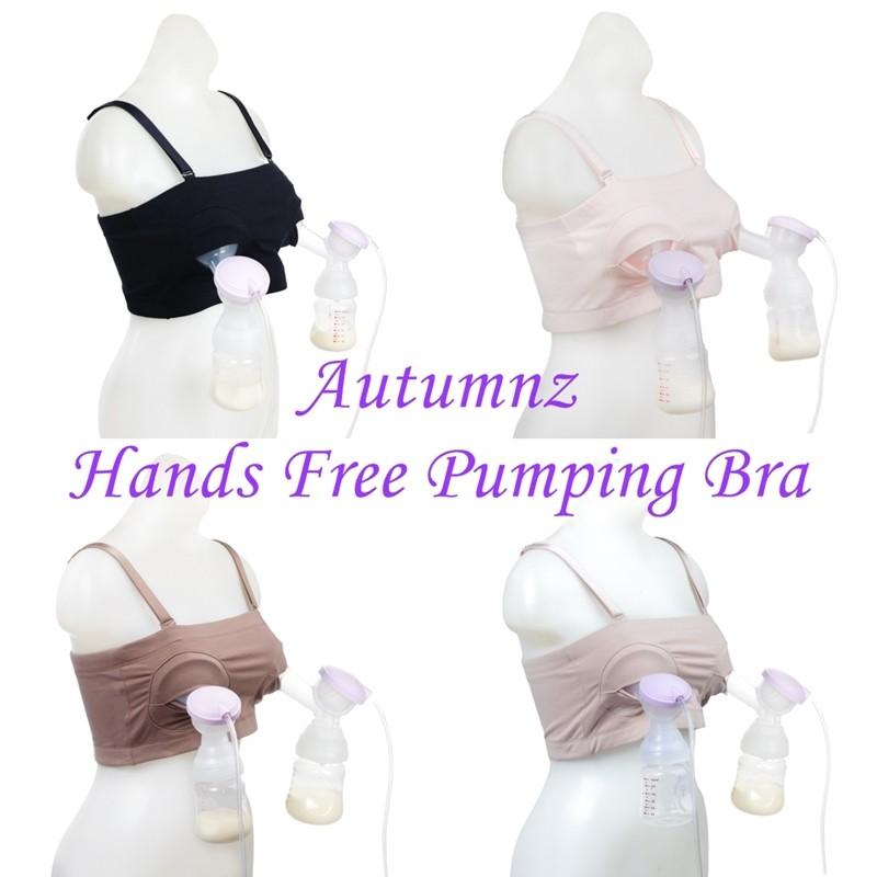 9806db357c923 Honeysuckle Hands Free Breastfeeding Pumping Bra