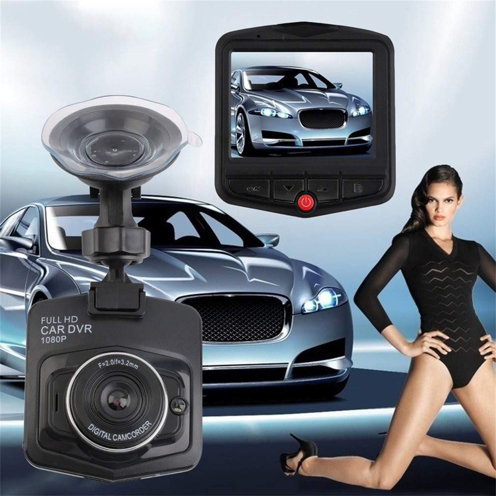 Hd Car Dvr Video Recorder Hidden Dash Cam Night Vision Vehicle