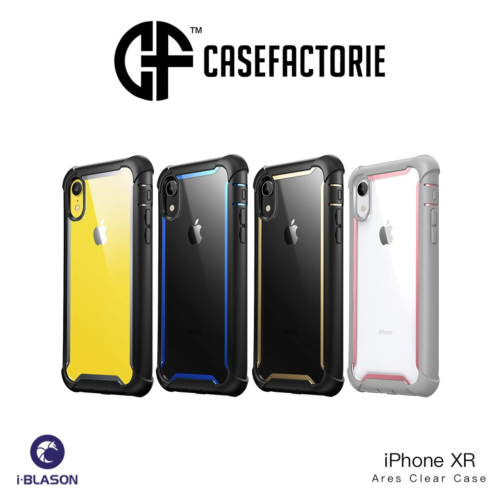 finest selection beff9 9d3a5 i-Blason Ares Clear Case for iPhone XR