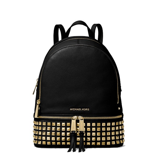 4de2f4d2ccf43 Michael Kors Greenwich Medium Bucket Bag Black