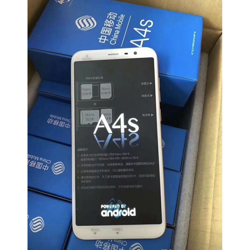 China Mobile 4As