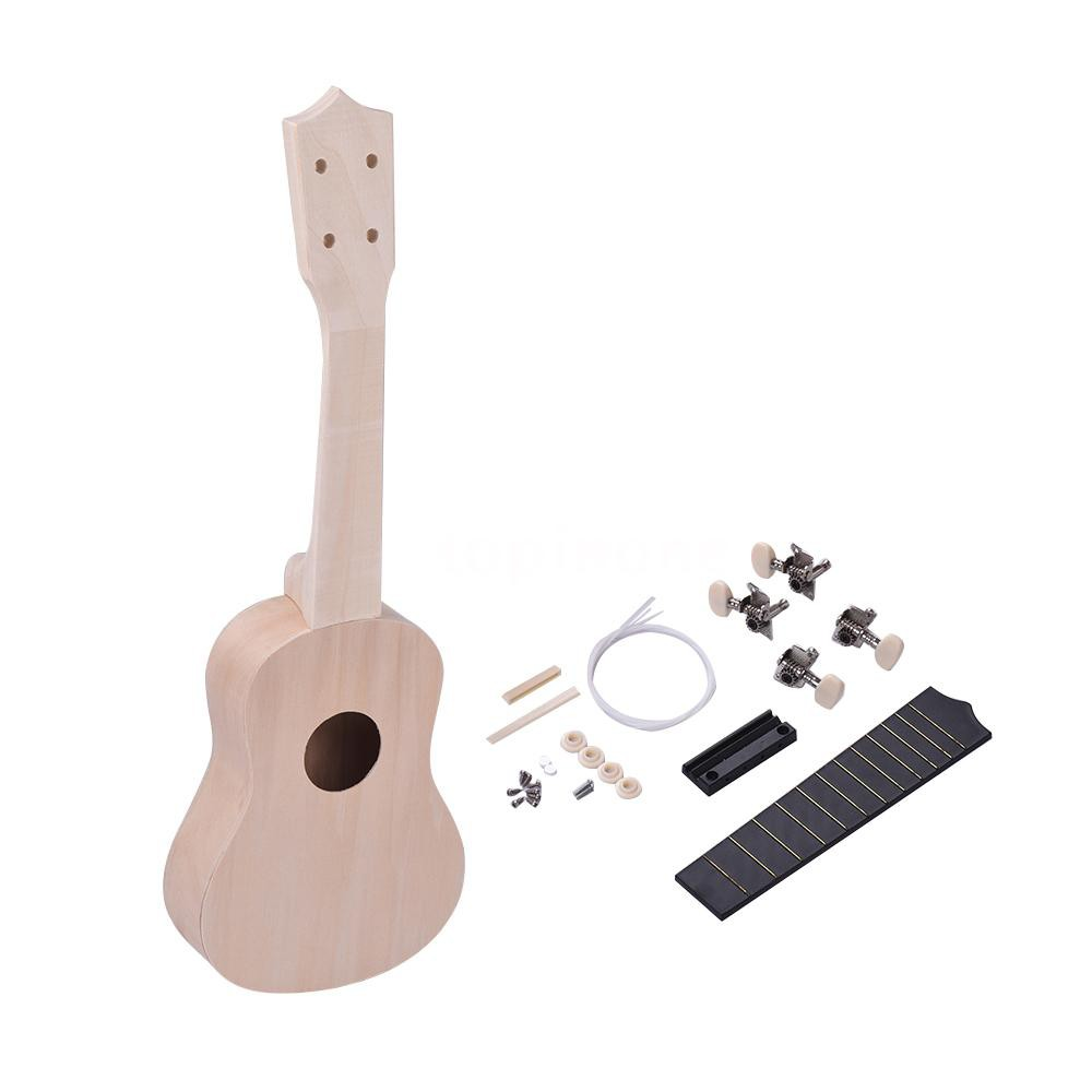Liberal Soprano Ukulele 21 Inch Ukelele 4 Strings Basswood Fingerboard Acoustic Guitar Music Instrument Bag Tuner String Strap Pick Set Stringed Instruments Sports & Entertainment