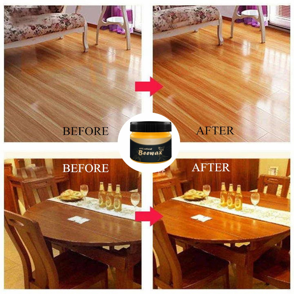 Beeswax Wooden Furniture Care
