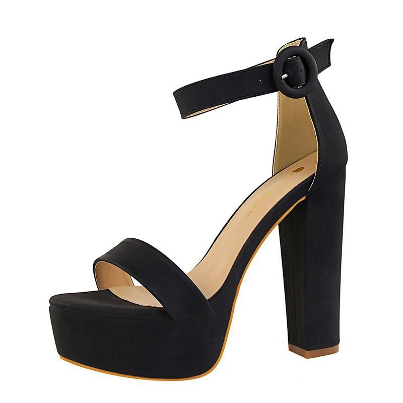 6950d7b4683 Holographic platform high heel shoe