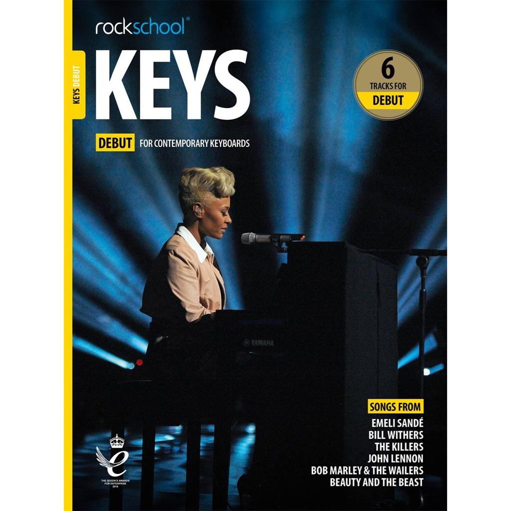 Rockschool Keys Grade 5 Keyboard from 2019 Book//Audio Exam SAME DAY DISPATCH