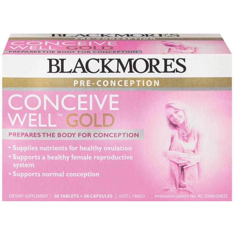 Blackmores Conceive Well Gold 56 capsule