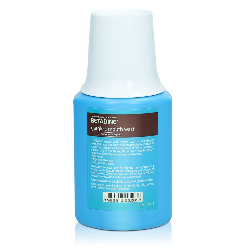 Betadine Gargle and Mouth Wash 1% | Shopee Singapore