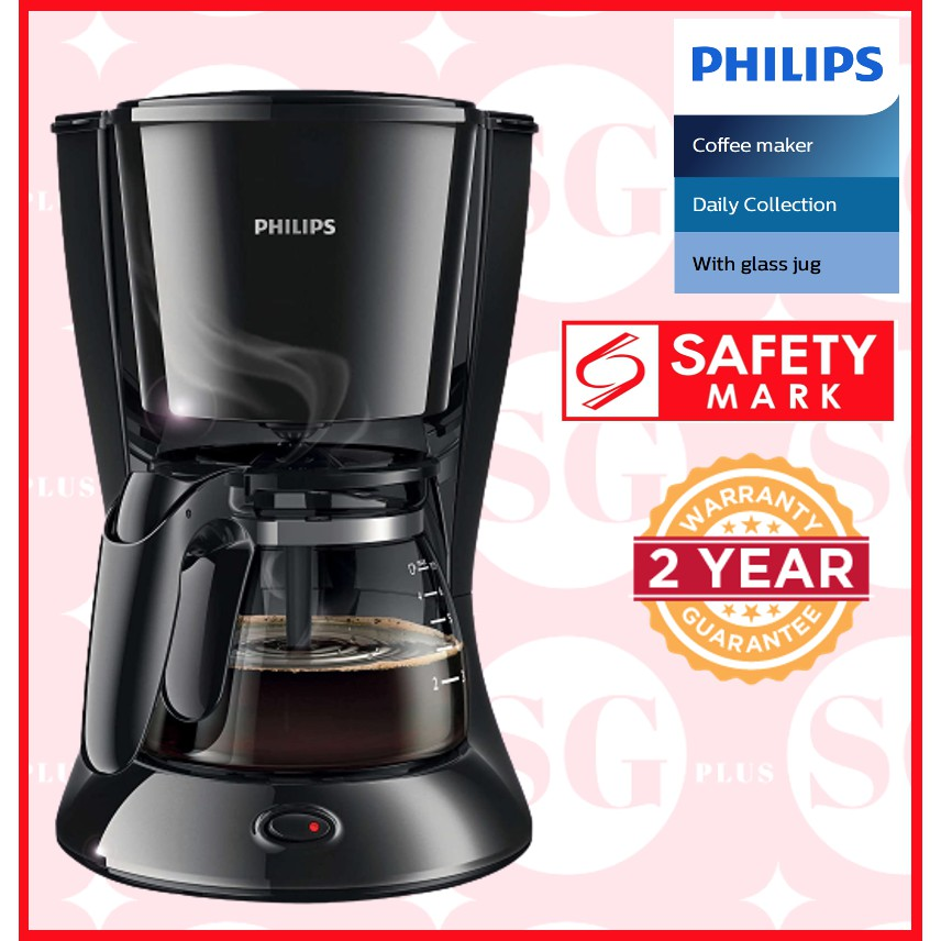 Philips Daily Collection Coffee Maker HD7431 | Shopee Singapore