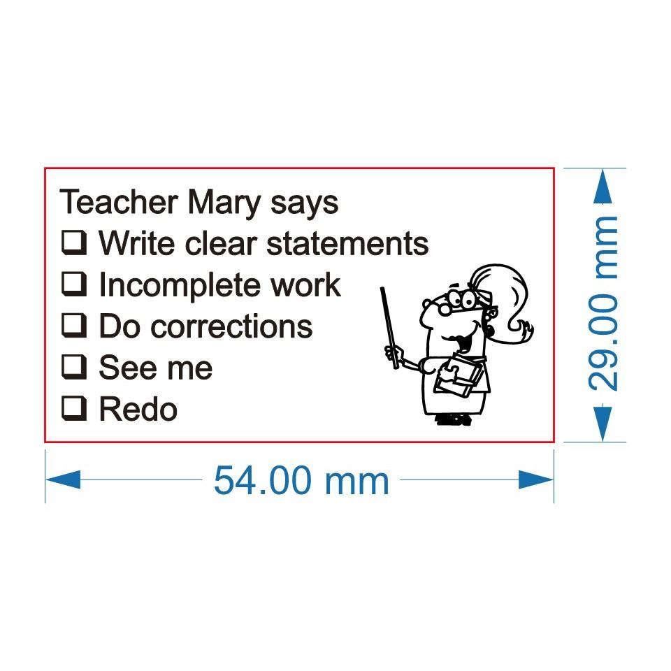 Teachers Stamp