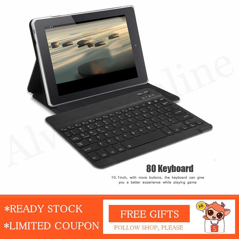 👍[Seller Recommend] Portable Slim Wireless Keyboard Bluetooth 3 0 for  Android/iPad/iPhone 10 1inch