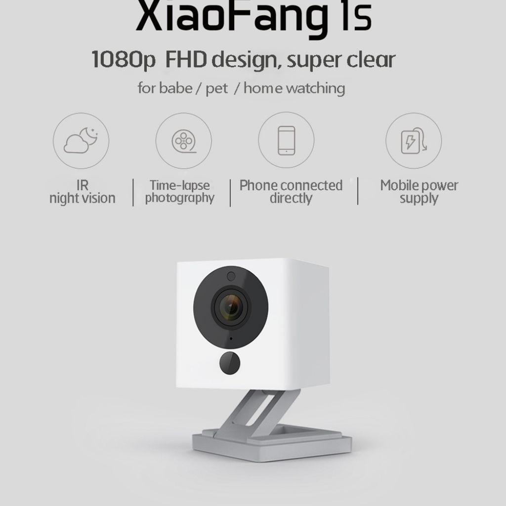 Xiaomi Xiaofang 1S IP Camera Baby Monitor CCTV / Night Vision 1080P