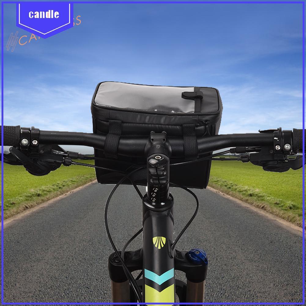 2L Water-proof Mountain Bike Handlebar Bag MTB Map Pack Bicycle Front Basket