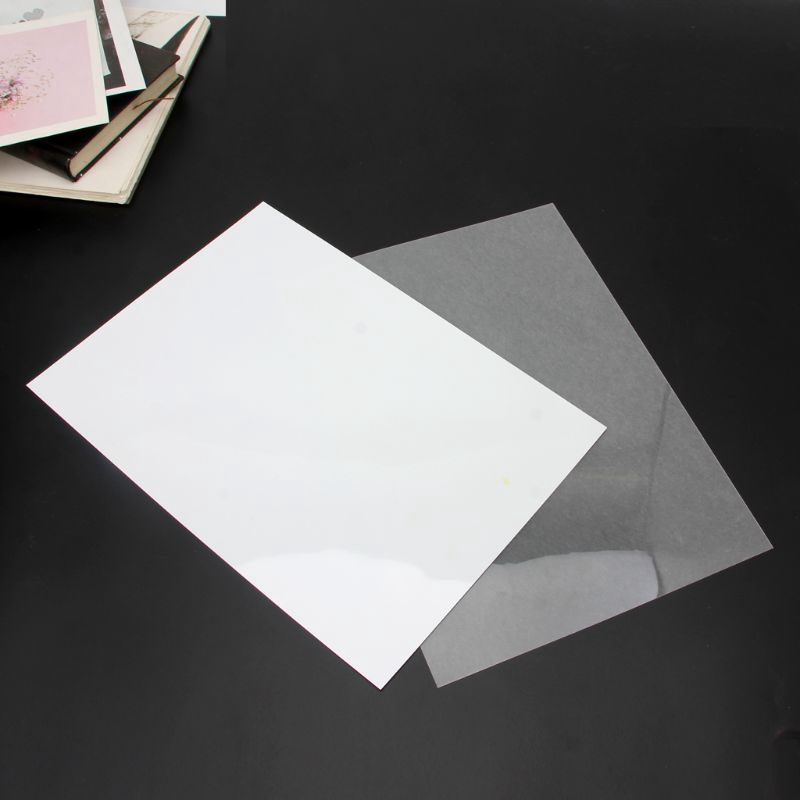 *J❤*Blank Heat Shrink Magic Paper For Jewelry DIY On Printer