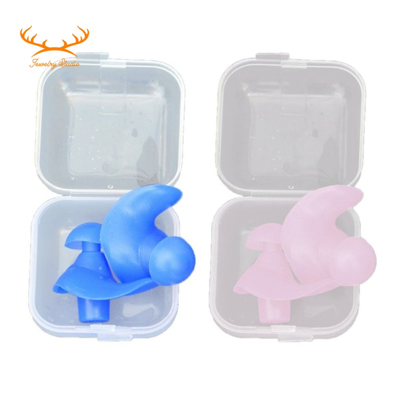 Swimming Soft Anti-Noise Ear Professional Silicone Earplugs Diving Waterproof