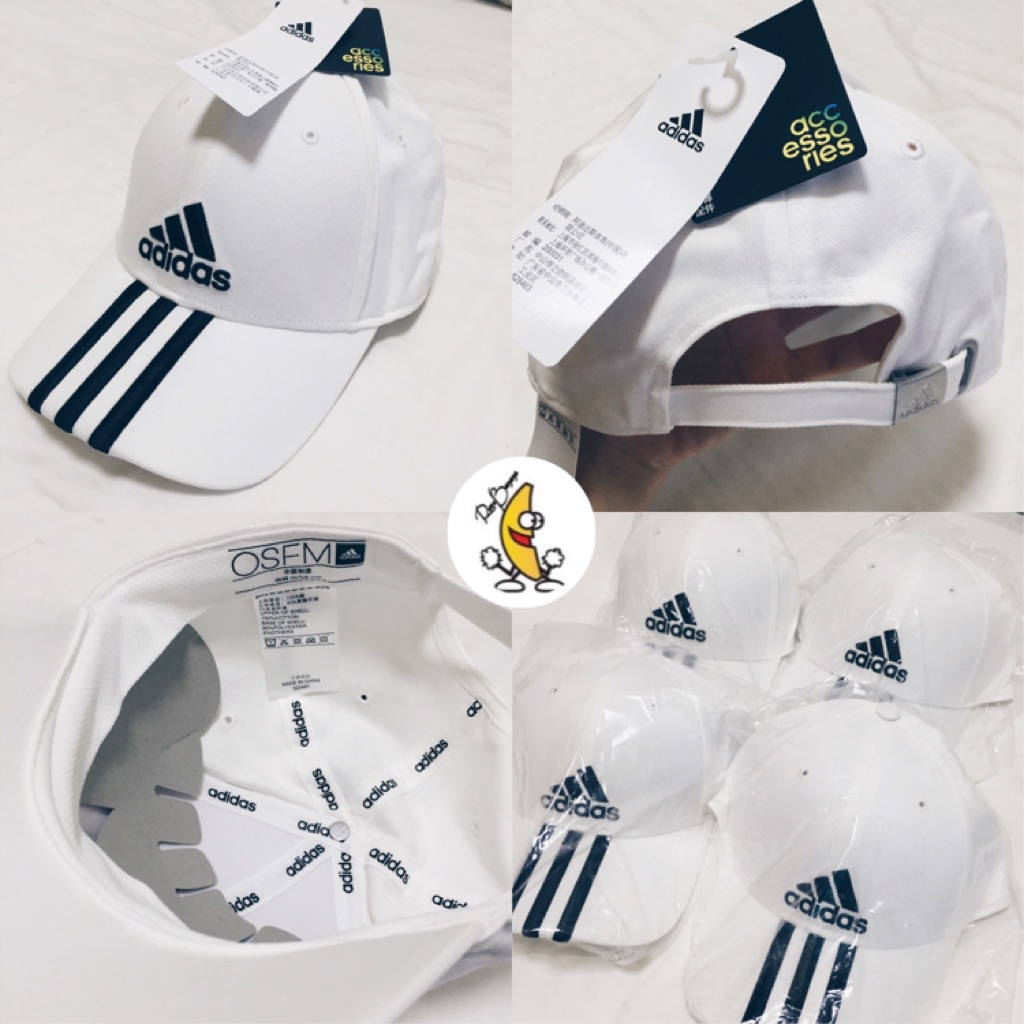 21efc54597c  INSTOCK  Authentic Adidas 3S Performance Cap