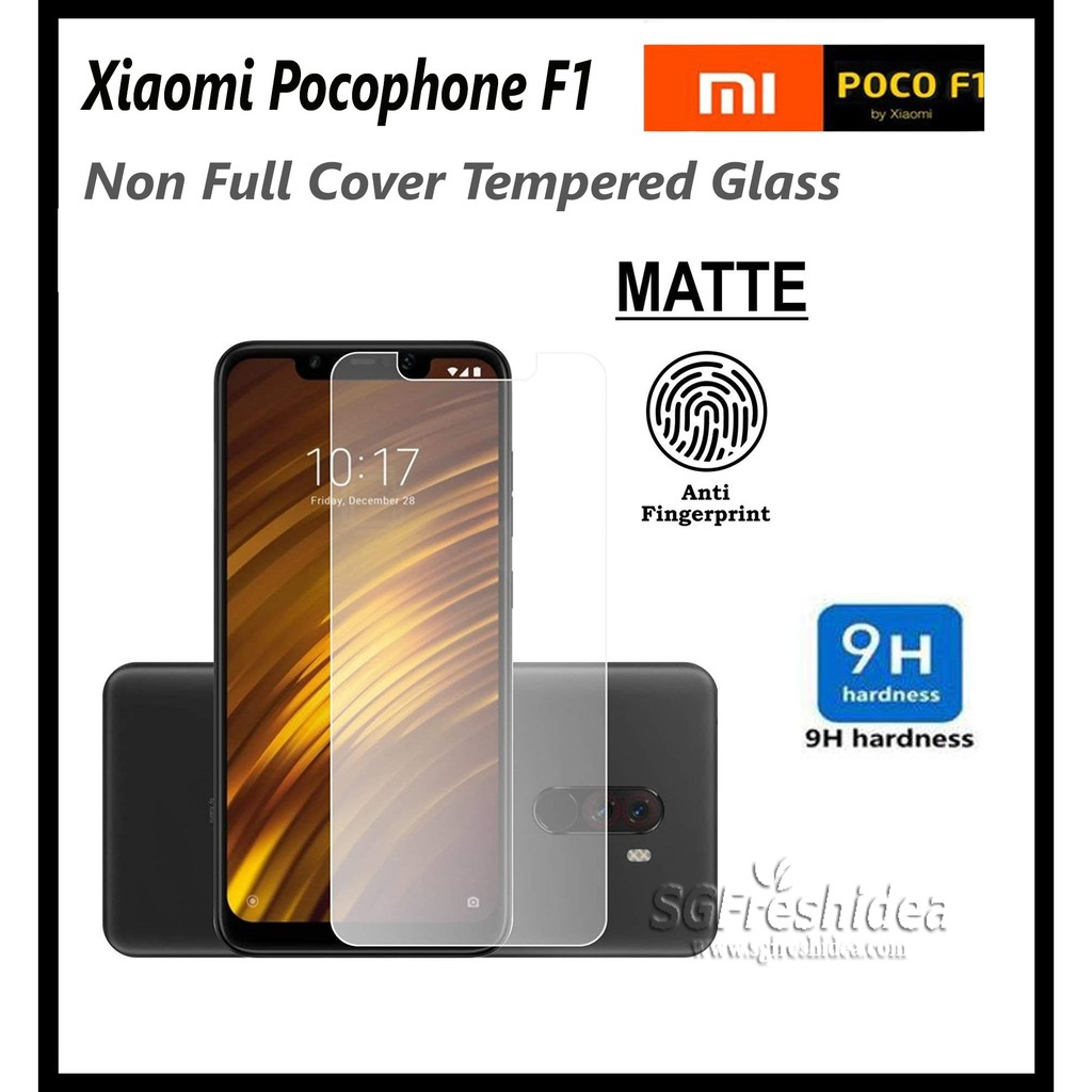 [SG] Xiaomi Pocophone F1 Tempered Glass Screen Protector | Shopee Singapore