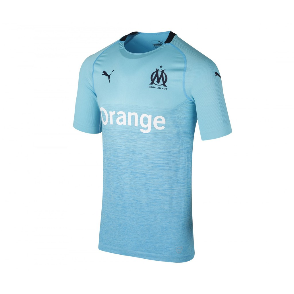 separation shoes 22e3b 3f2d6 2018-2019 Marseille Third Away Soccer Jersey Shirt football jersey