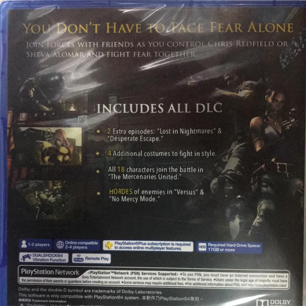 PS4 Resident Evil 5 HD | Shopee Singapore