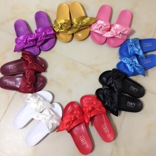 sale retailer 8c7ac 6e751 Puma Fenty Bow Slide Slipper<PO> | Shopee Singapore