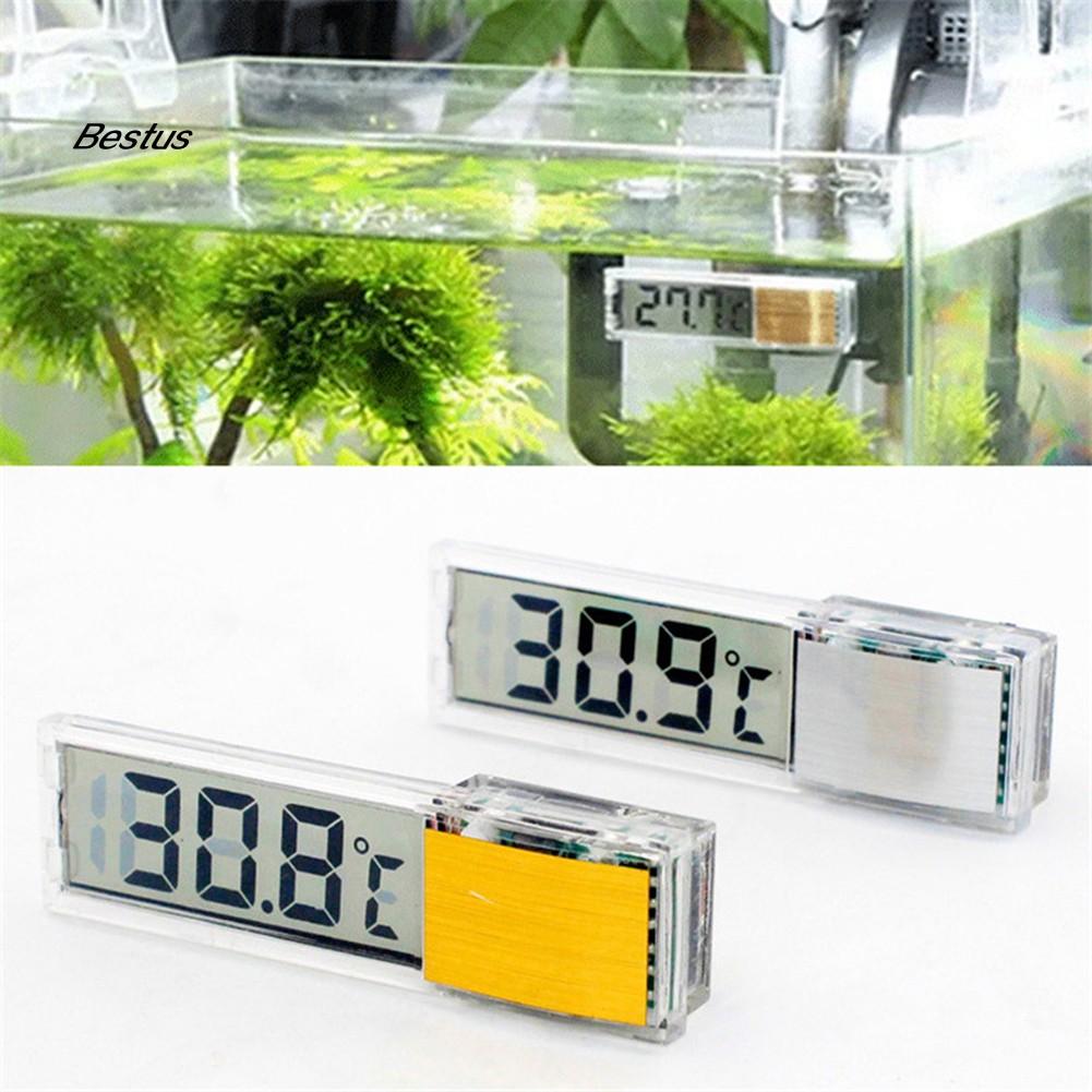 Ista LCD Digital Thermometer Aquarium Fish Tank Temperature Meter Very Accurate