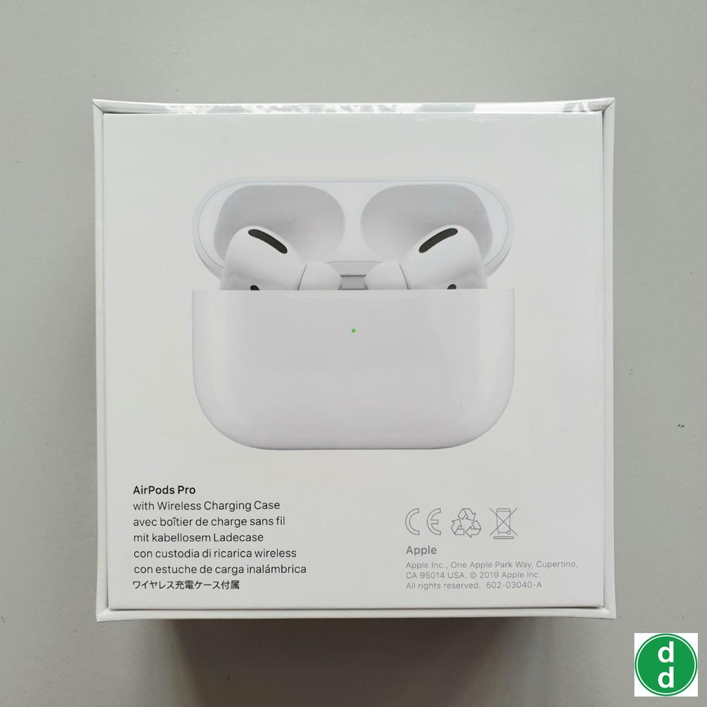 Apple Airpods Pro With Wireless Charging Case 100 Authentic Ready Stock Self Collection Available Shopee Singapore