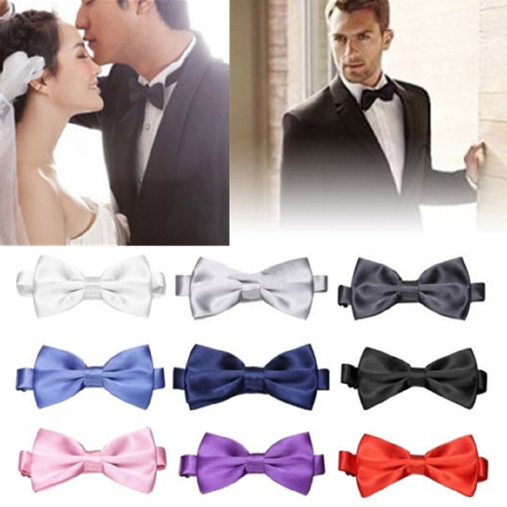 1PC Wooden Men Bow Tie Wood Bowtie Necktie Wedding Party Business Fashion