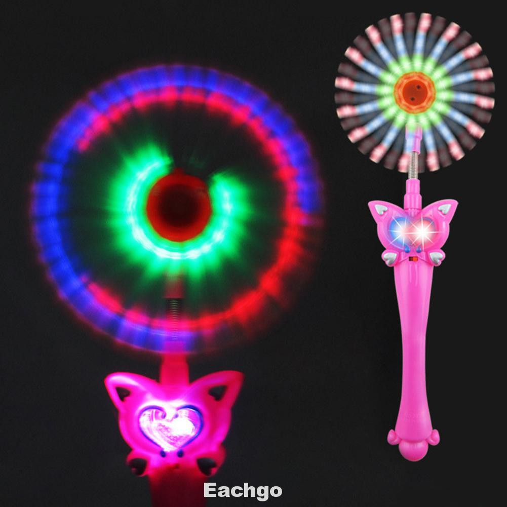 Funny Camping Musical Windmill Replacement Gift Children Glowing Light Stick