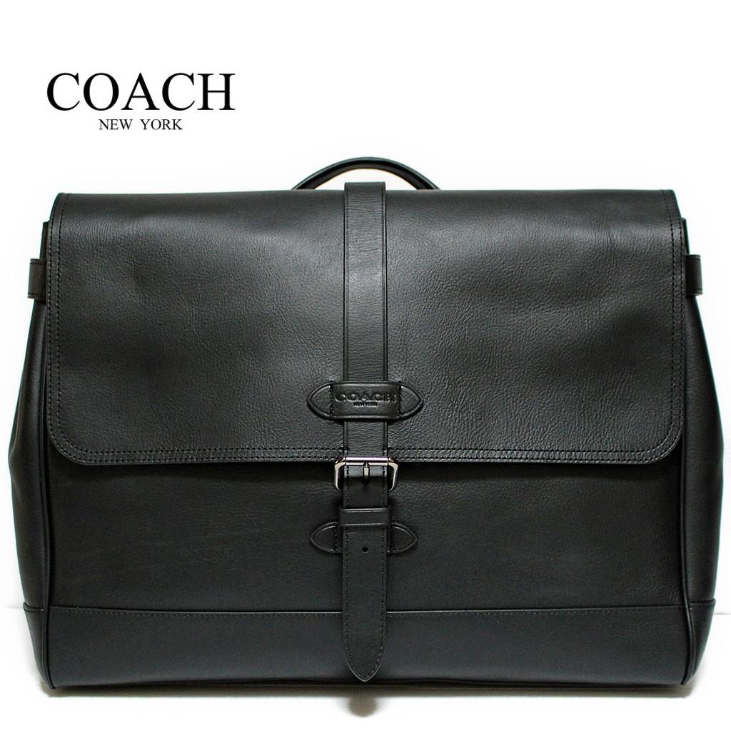 cb288af2a5370 Coach Charles Flight Bag In Smooth Leather (F54782) Black