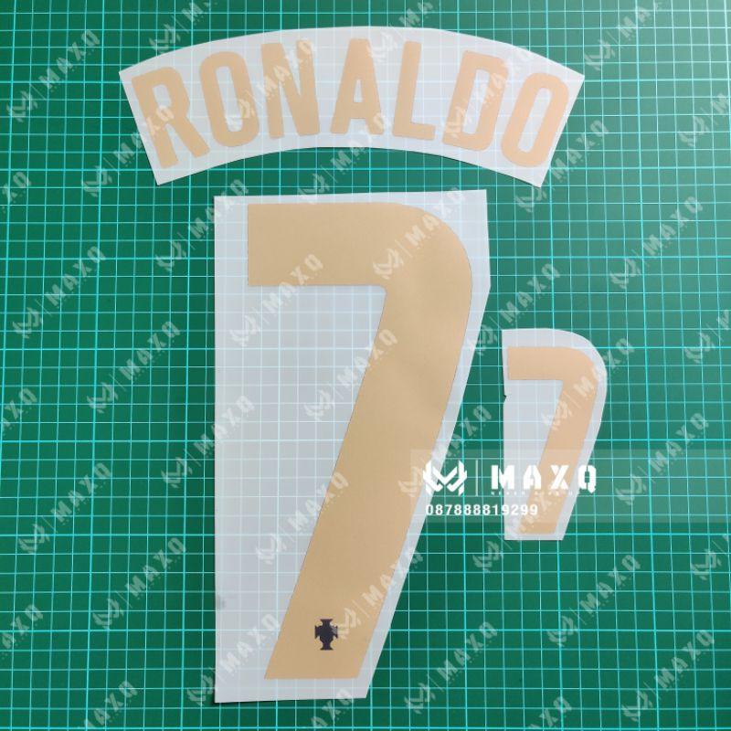 Nameset Jersey Portugal Home 2020 2021 Ronaldo Shopee Singapore