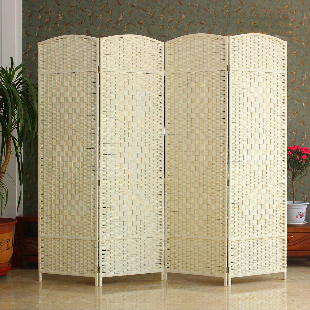 Room Divider Folding Screen Free Delivery Privacy Fengshui Temporary Room Full Covered Shopee Singapore