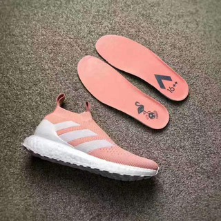 sports shoes ae458 8f84d Kith x Adidas Ace 16+ PureControl Ultra Boost 'Vapour Pink ...