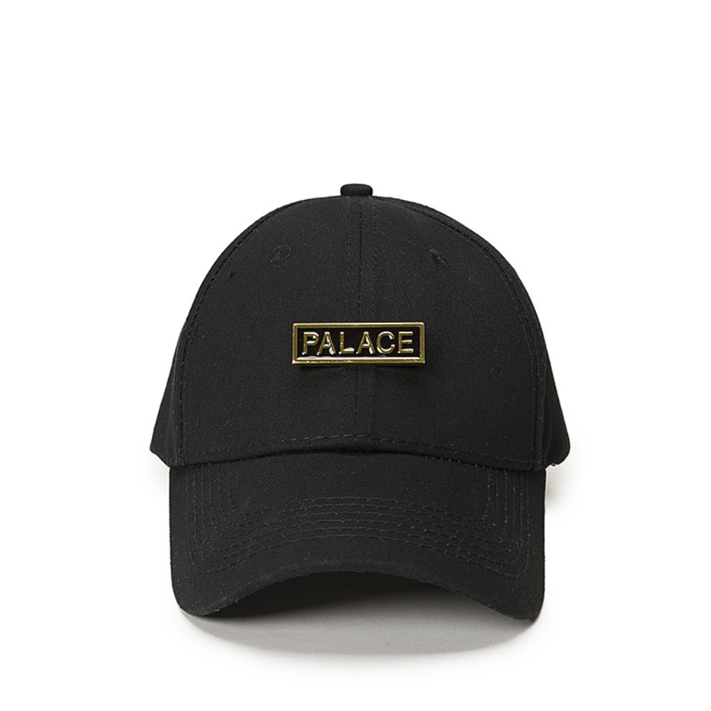 d235c835 Palace Skateboard Stainless Gold Buckle Snapback Apparel Cap