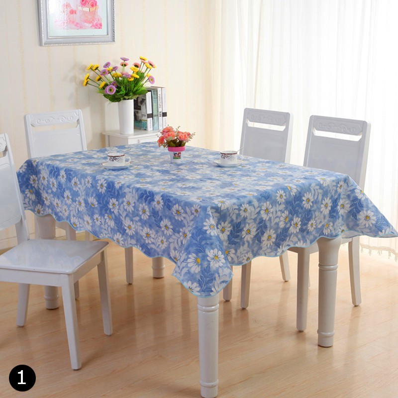 Oil Proof Pvc Table Cloth Cover