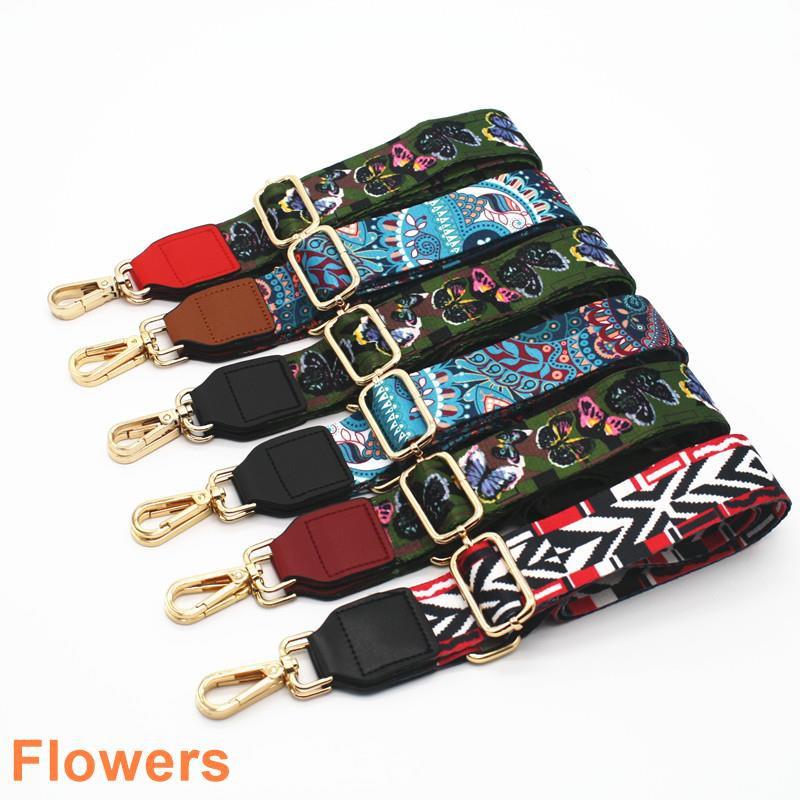 Nylon Colored Bags Straps Dandelion Belt Accessories Women Adjustable Shoulder Hanger Handbag Straps Decoration Handle 6 Other