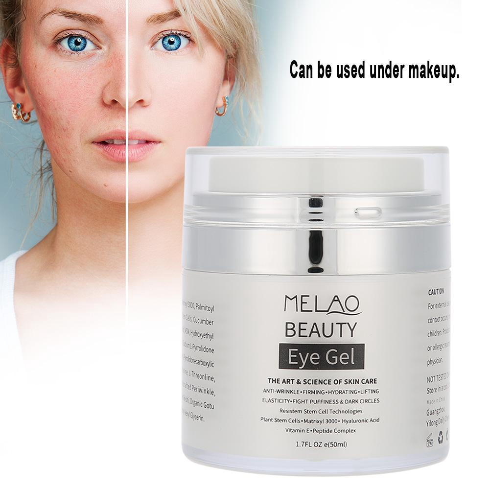 50ml Melao Eye Gel Vitamin A E Cream Dark Circles Wrinkle Shopee