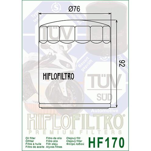 Hiflo HF170C Chrome Oil Filter
