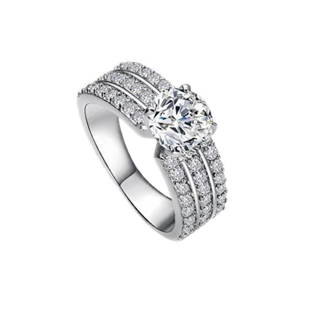 0dd9c8750c86 Two Ring Rose Filed Floral Rings Set Gold Set Rings