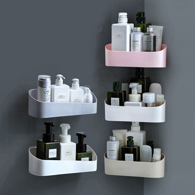 Bathroom Shelf Kitchen Storage Wall, Bathroom Wall Rack