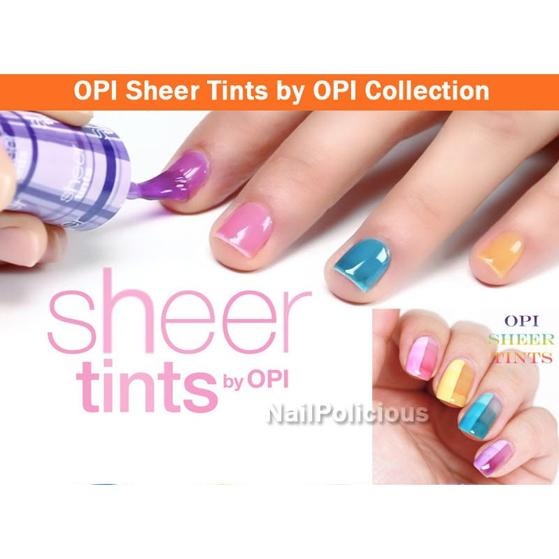 OPI Sheer Tints by OPI Collection