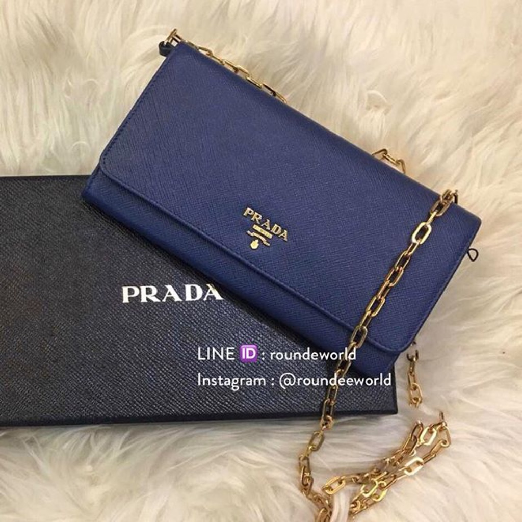 3181abbab8464d NEW!* Prada Saffiano Leather Cosmetic Pouch 1N1674 | Shopee Singapore