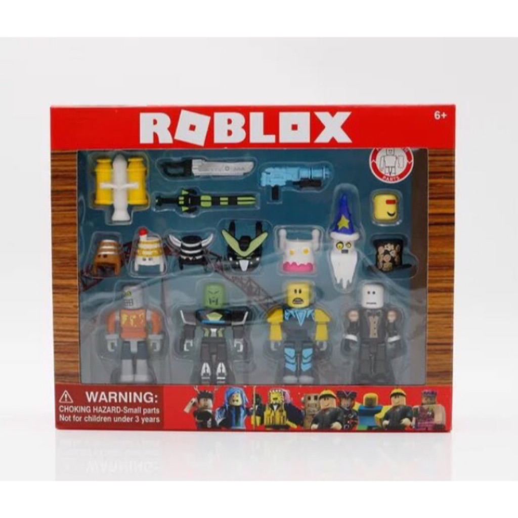 4Pcs//6Pcs Kid New Mini ROBLOX Legends of Roblox Figures Game Toy Xmas Gift