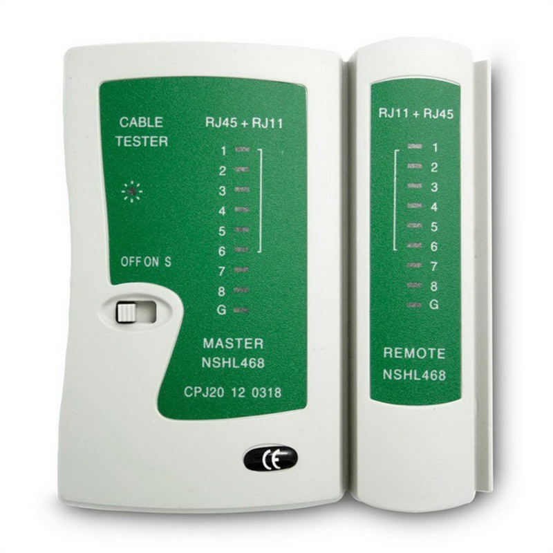 RJ45 RJ11 CAT6 UTP STP NETWORK LAN CABLE TESTER Handy Modular Cable Tester