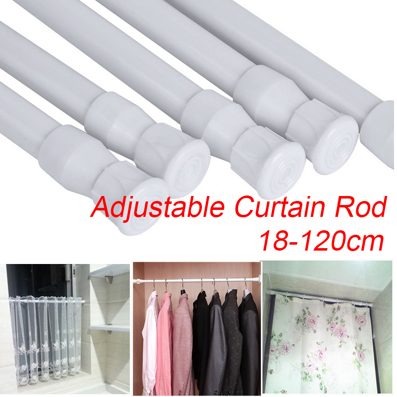 Multifunctional Adjustable Bathroom, How To Install A Tension Shower Curtain Rod On Tile